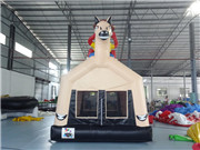 horse bouncing house