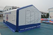 inflatable tent for medical treatment