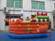 inflatable pirate boat