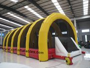 inflatable football tent