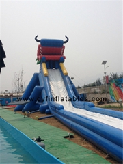 Infltatable city slide