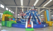 Inflatable mini water park
